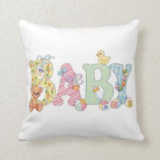 baby throw pillow