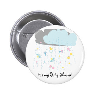 Baby Toy Shower/Baby Shower Invitation Button