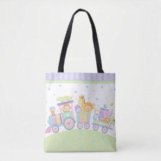 Baby Train Tote Bag