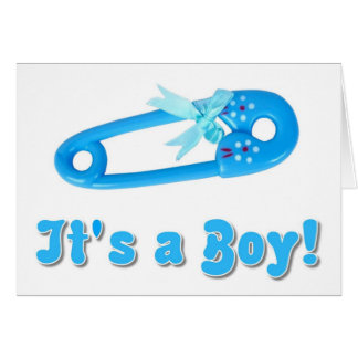 babyboy shower invitation greeting card