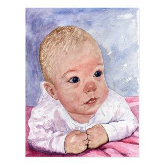 Babyface Postcard