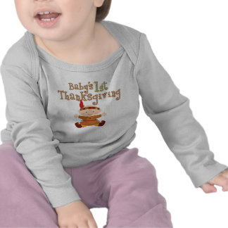 Baby's 1st Thanksgiving Cute Baby Indian T-shirt
