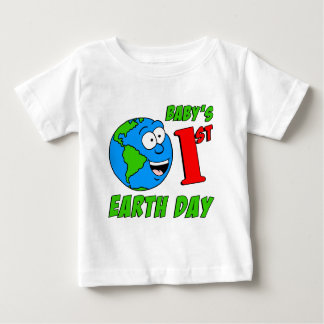 Baby's First Earth Day Baby T-Shirt
