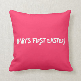 BABY'S FIRST EASTER PILLOW