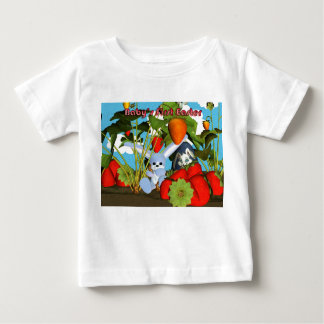 Baby's First Easter T Shirt, with bunny and egss Baby T-Shirt