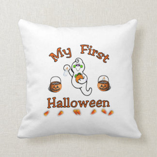 Baby's First Halloween Cushion