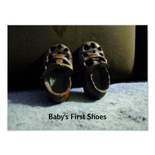 Baby's First Shoes Print
