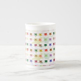 Babysoft Butterfly Patterns for Adults Porcelain Mugs
