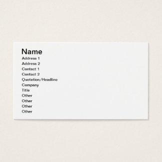 Bacchanalia (pen, ink & w/c) business card