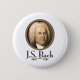 Bach 6 Cm Round Badge