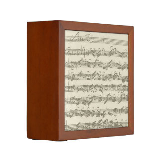 Bach Cello Suite Music Manuscript Desk Organiser