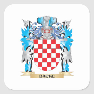 Bache Coat of Arms Square Sticker