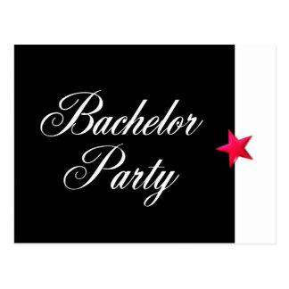 Bachelor Party Postcard