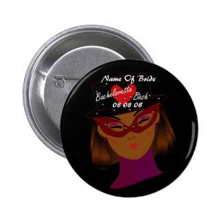 """""""Bachelorette Bash"""" Button - Customizable Pinback Button"""