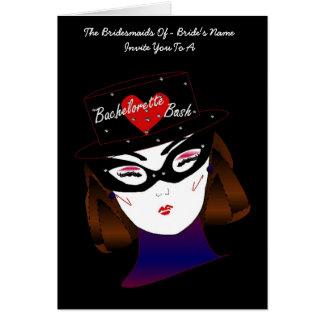 """""""Bachelorette Bash I"""" Card - Customizable Card"""