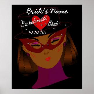 """Bachelorette Bash"" Poster - Customizable"