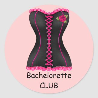 Bachelorette Club Sticker wedding Bachelorette