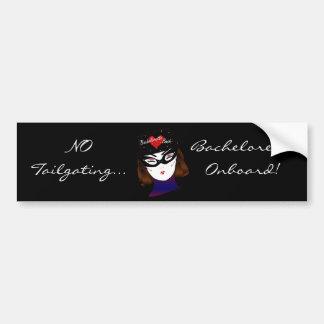 """""""Bachelorette Onboard I"""" Bumper Sticker Car Bumper Sticker"""