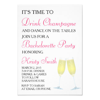 Bachelorette or Hen Party Invitation