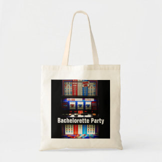 Bachelorette Party Casino Slot Machine Tote Bag