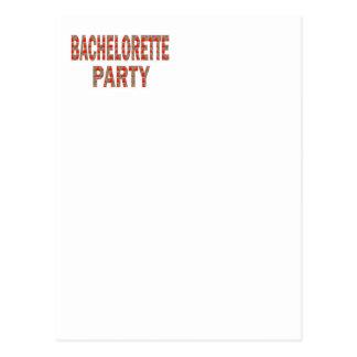 Bachelorette Party: Engagement, Wedding LOWPRICE G Postcard