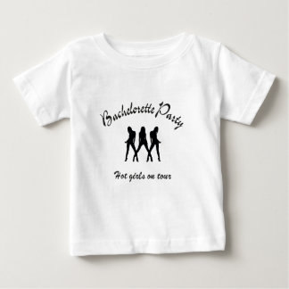bachelorette party hot girls on route baby T-Shirt