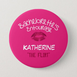 Bachelorette Party Name Tag Button