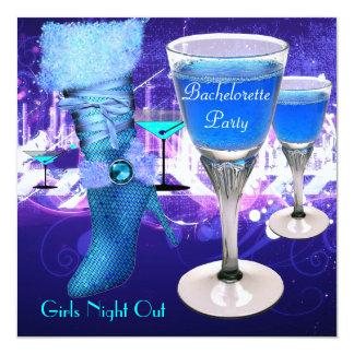 Bachelorette Party Shoes Hi Heels Boots Card