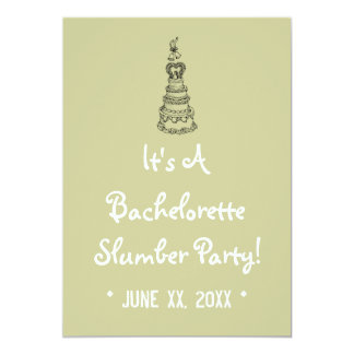 Bachelorette Slumber Party Custom Invite (Mod)