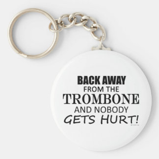 Back Away From The Trombone Key Ring