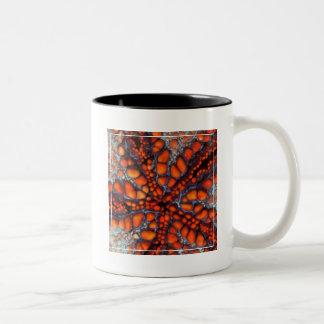 Back Side Of Sea Star |Cambodia Two-Tone Coffee Mug