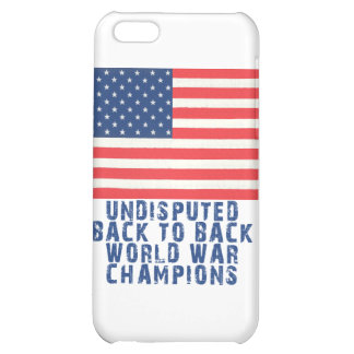Back to Back World War Champions Cover For iPhone 5C