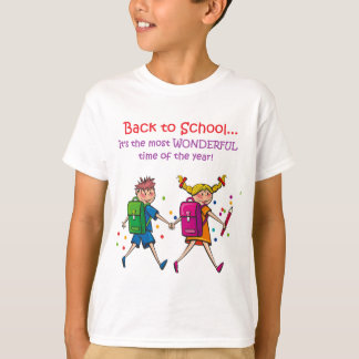 Back to School...Most Wonderful Time of the Year! T-Shirt