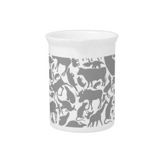 Background animals2 pitcher