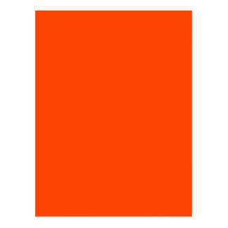 Background Color Orange Postcard