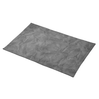 Background PAPER TEXTURE - dirty grey Placemat