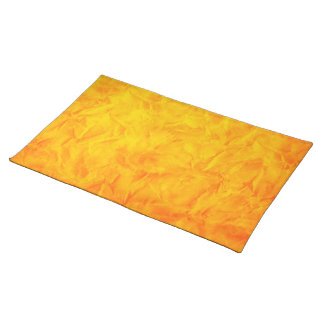 Background PAPER TEXTURE - orange yellow Placemats