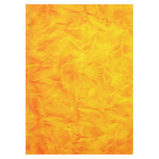 Background PAPER TEXTURE - orange yellow Tablecloth