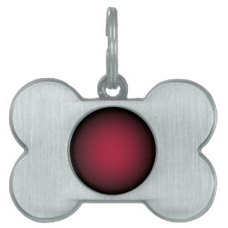Background Template ~ Black Frame ~ Maroon Centre Pet Tag