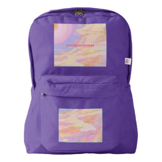 Backpack Amethyst Consciousness Pink Orange