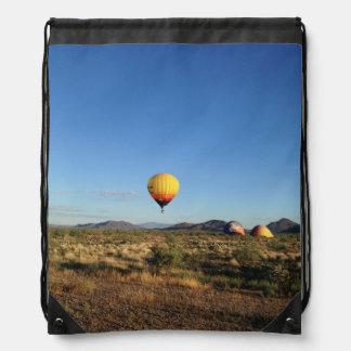 Backpack Hot Air Balloon Desert View