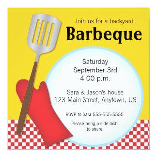 Backyard Barbeque invitation