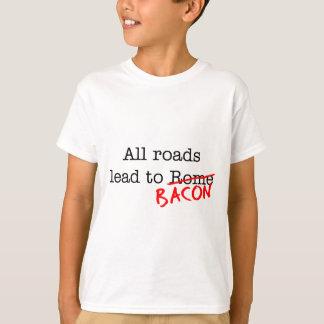 Bacon All Roads T-Shirt