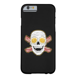 Bacon and Egg Skull Barely There iPhone 6 Case