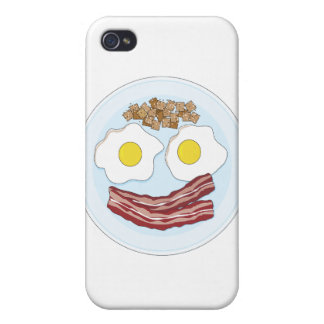 Bacon and Eggs iPhone 4 Cover