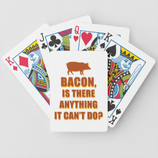 Bacon Bicycle Playing Cards