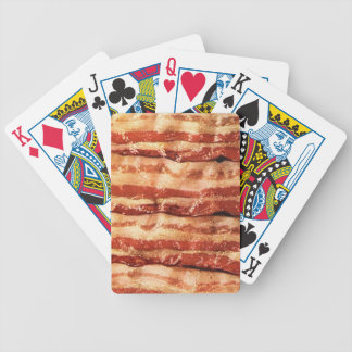 bacon, bicycle playing cards
