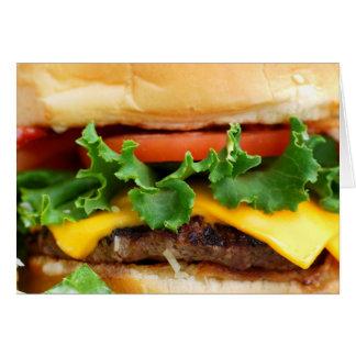 Bacon Cheeseburger Card