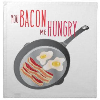 Bacon Hungry Napkin