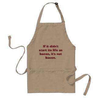 Bacon is bacon…apron. standard apron